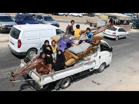شاهد منظمات إنسانية بدي مخاوفها من هجوم وشيك على إدلب