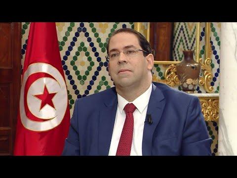 شاهد حزب نداء تونس يعلق عضوية رئيس الحكومة يوسف الشاهد