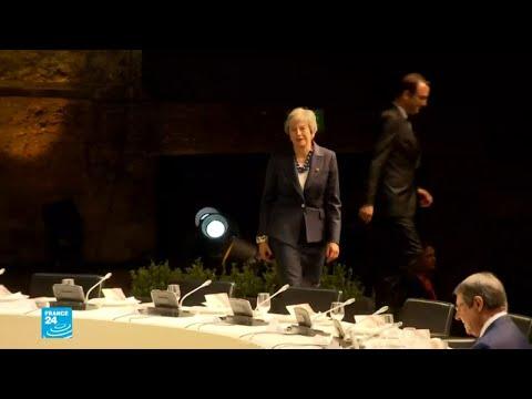 شاهد القادة الأوروبيون يحاولون نزع فتيل التوتر بشأن البريكسيت