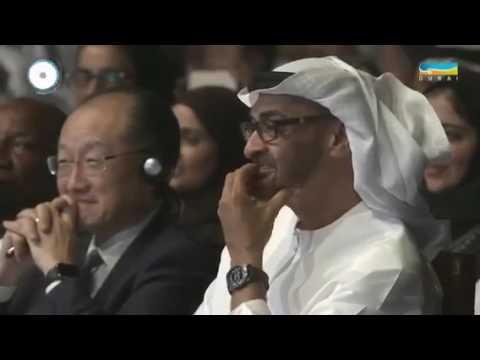 شاهد محمد بن راشد يرد على سؤال عمر أديب بشأن تجربة النجاح