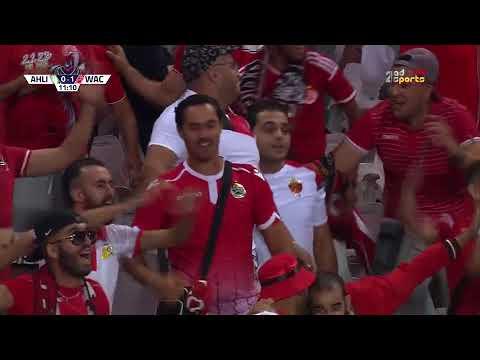 شاهد الهدف الأول للوداد في مرمى الأهلي طرابلس