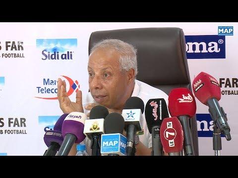 شاهد امحمد فاخر يكشف أسباب تراجع نتائج الجيش الملكي