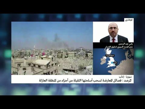 شاهد هيئة تحرير الشام لم تسحب أسلحتة الثقلية من ريف اللاذقية