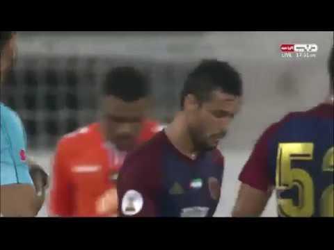 شاهد مُلخص وأهداف مباراة عجمان والوحدة في كأس الخليج العربي