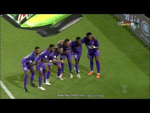شاهد اهداف مباراة العين والجزيرة