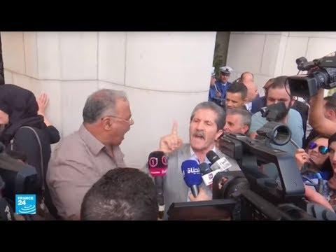 شاهداعتصام200 نائب أمام البرلمان الجزائري
