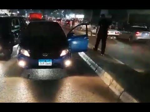 شاهدشاب يخرج من سيارته ويطلق النار على نفسه أمام أعين المواطنين