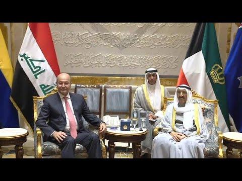 برهم صالح يؤكد على ضرورة عدم تحميل العراق وزر إيران