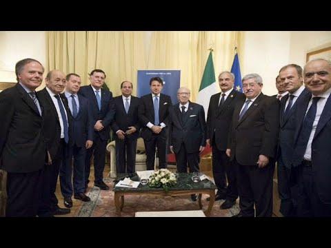 شاهد الطرفان المُتنافسان في ليبيا يجتمعان لأول مرة منذ 5 أشهر