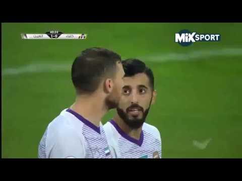 شاهد ملخص أهداف مباراة العين واتحاد كلباء