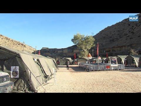 شاهد  المستشفى العسكري الميداني يشرع في تقديم خدماته الطبية لسكان منطقة أنفكو