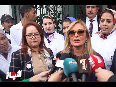 شاهد يسرا تُؤكّد أنّ محمد السادس له وعي كبير بمحاربة السيدا