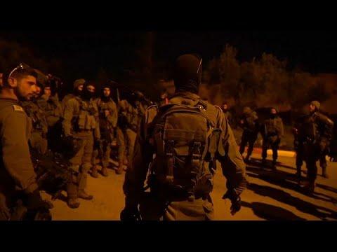 شاهد الاحتلال الإسرائيلي يشّن حملة اعتقالات في الضفة الغربية