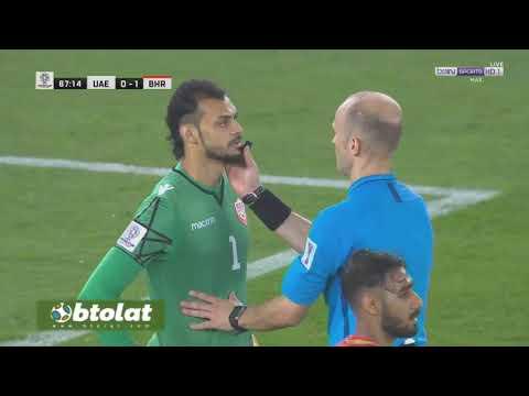 شاهد أهداف مباراة الإمارات والبحرين المنتهية بالتعادل