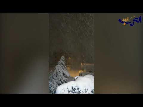 العاصفة الثلجية تقترب من دول الشام وسط حالة من الترقّب