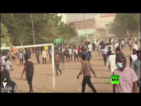 شاهد استمرار الاحتجاجات في العاصمة السودانية