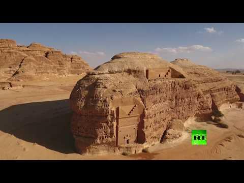 شاهدالجمال الفريد لمحافظة العلا شمال السعودية