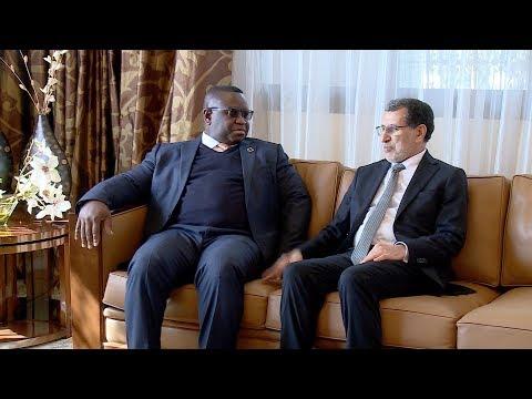 شاهد رئيس جمهورية سيراليون يصل إلى المغرب