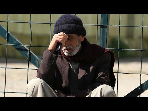 شاهد ذوو ضحايا عبارة الموصل يُشيعون جثامين أحباءهم