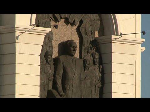 شاهد سبب فرض اسم الزعيم الشيوعي الذي حكم كازاخستان ثلاثة عقود على العاصمة