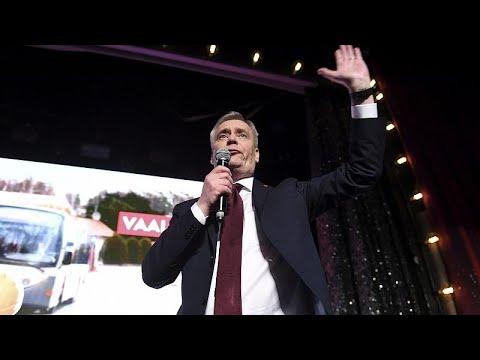 شاهد الحزب الاشتراكي اليساري يُعلّن فوزه بالانتخابات البرلمانية الفنلندية