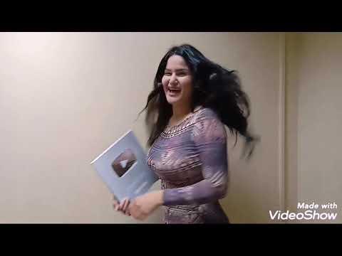 شاهد سما المصري تحتفل بدرع يوتيوب الفضي