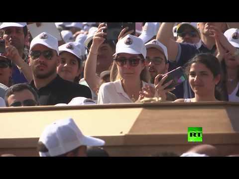 شاهد مراسم تشييع البطريرك الماروني السابق مار نصر الله