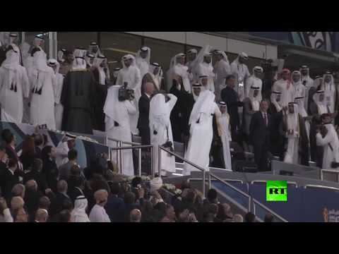 شاهد لحظة افتتاح ثاني ملاعب مونديال قطر 2022