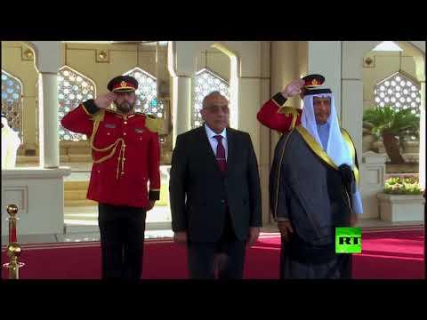 شاهد محادثات بين رئيس وزراء الكويت ونظيره العراقي