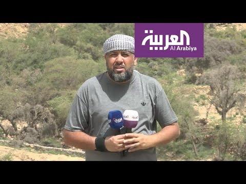 شاهد فيديو يوثِّق التفاف الشرعية اليمنية لقطع طريق مجز قطابر في صعدة