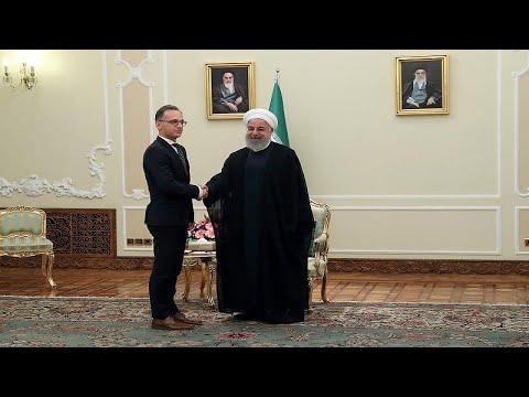 شاهد وزير خارجية ألمانيا يُحذر من خطورة المواجهة الأميركية الإيرانية