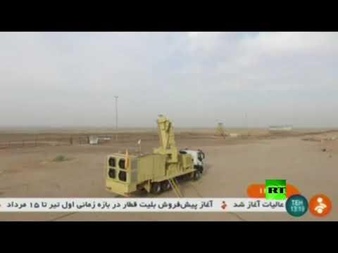 شاهد إيران تعرض منظومتها خرداد 15 للدفاع الجوي