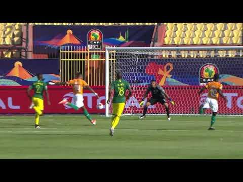 شاهد مُلخَّص وأهداف مباراة ساحل العاج وجنوب أفريقيا