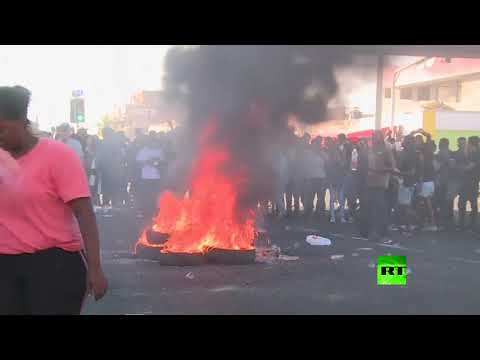 شاهد احتجاجات الجالية الإثيوبية في إسرائيل والشرطة تتدخل
