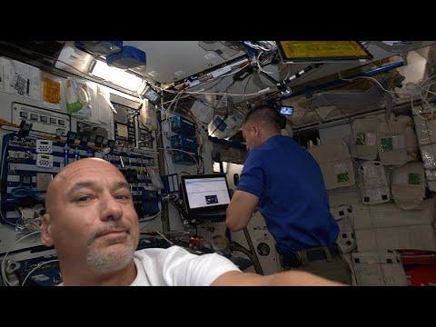 شاهد محطة الفضاء الدولية تلتقي دارغون في رابع حلقات سلسلة الفضاء