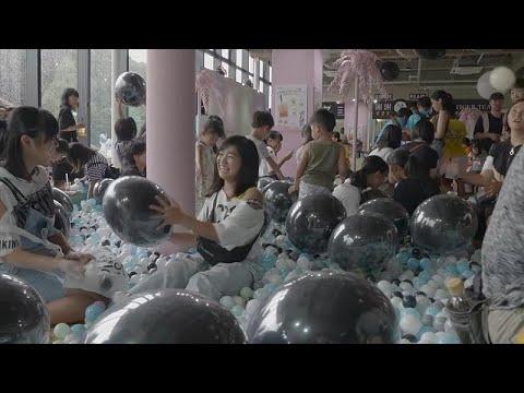 شاهد افتتاح منتزه خاص لتذوق التايبوكا في العاصمة اليابانية طوكيو