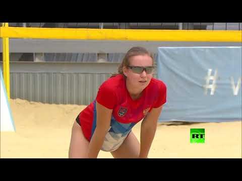 فلاديمير بوتين يتفقد مجمع الرياضة واللياقة البندنية في أنابا