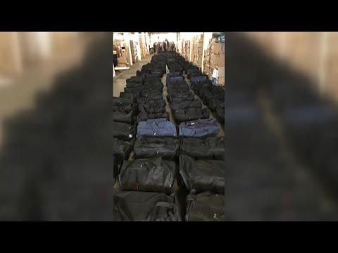 الجمارك الألمانية تُعلن ضبط 45 أطنان من الكوكايين داخل حاوية في هامبورغ