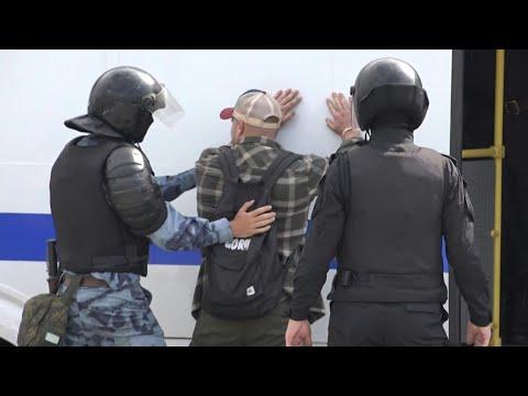 السلطات الروسية توقف 200 شخص في مظاهرات بالعاصمة موسكو