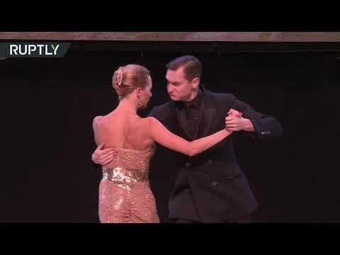 شاهد مسابقة رقص التانغو الدولية في الأرجنتين