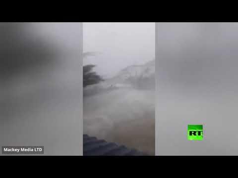 إعصار دوريان المدمر يجتاح جزر الباهاما مصحوبًا برياح شديدة