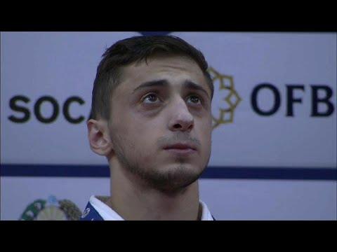 شاهد يوم روسي ياباني حافل في افتتاح منافسات الجائزة الكبرى للجيدو في طشقند