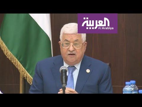 شاهد محمود عباس يدعو المنتخب السعودي إلى اللعب على أرض فلسطين
