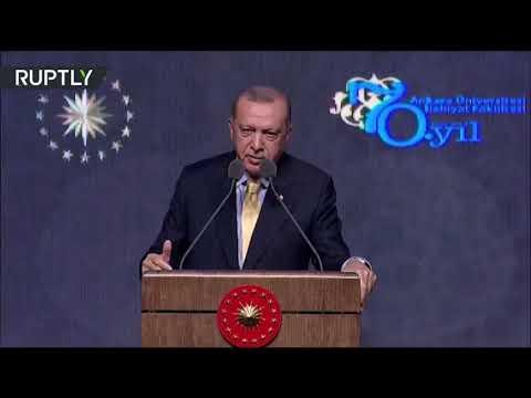 شاهد الرئيس التركي يؤكد اعتقالهم زوجة البغدادي وشقيقته وصهره في سورية