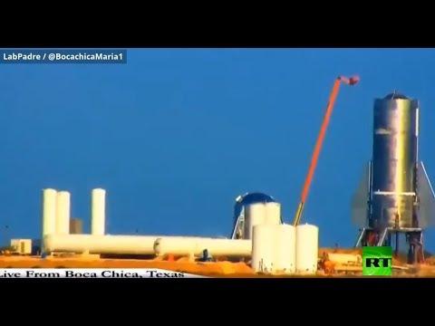 شاهد لحظة انفجار صاروخ لـ سبيس إكس الأميركية