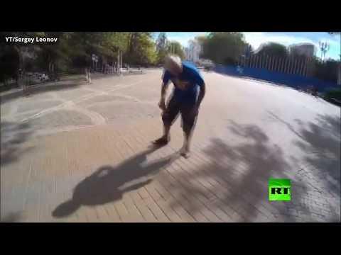 شاهد ركوب أصغر دراجة في العالم