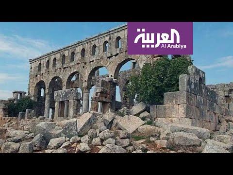 شاهد الفصائل الموالية لتركيا تسرق آثار النبي هوري في عفرين شمال غرب سورية