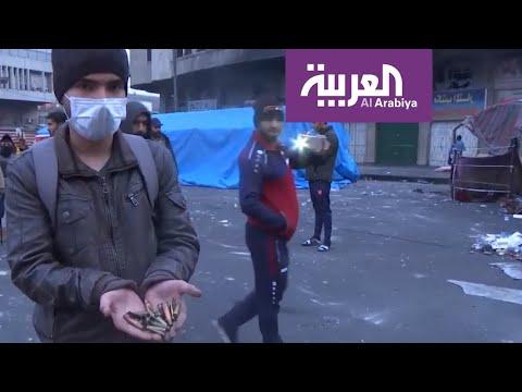 شاهد أنقذوا حياة العراقيين يتصدَّر المنصَّات مع تجدد الأعمال الدموية ضد المتظاهرين