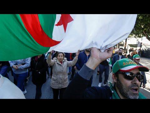 شاهد انتهاء الحملات الانتخابية الرئاسية في الجزائر