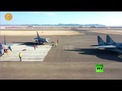 شاهد فيديو جديد لافتتاح أكبر قاعدة عسكرية في البحر الأحمر
